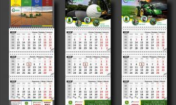 Календар квартальний